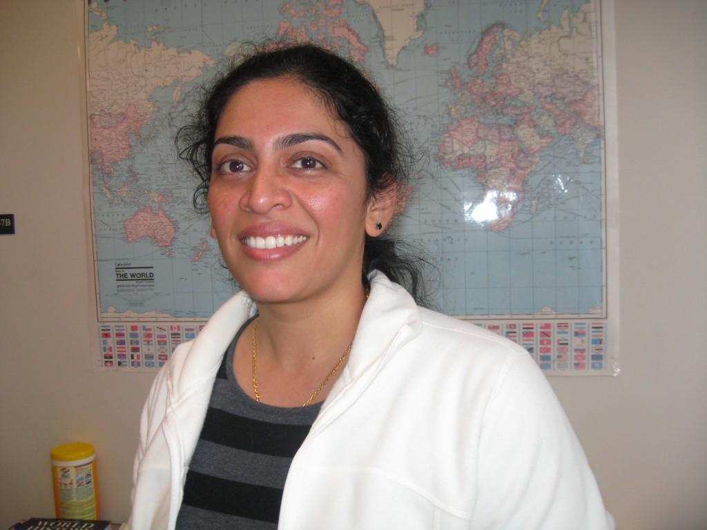 Swati Jogdand.  Photo by Broadside Staff.