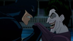 A still image from The Killing Joke, coming this summer