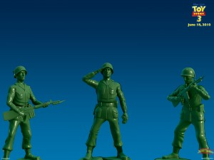 Yes, he also voiced the Army Men from Toy Story.