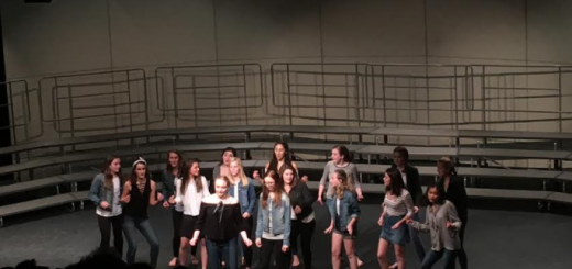 "The Hilights perform ""Crazy Little Thing Called Love"" by Queen at the Choral Concert. Credit: Hayden Smith."