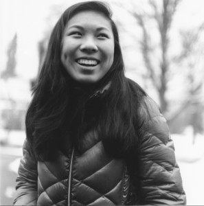 "Mindy Wu, the student behind the ""Humans of Hanover"" page."