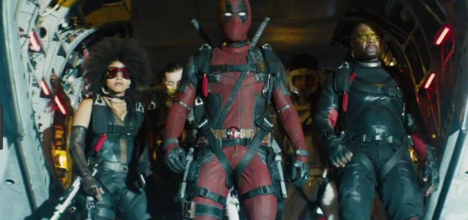 "Deadpool prepares to embark on a mission with his specially assembled ""X-Force"" in this scene from Deadpool 2. Source: https://www.gq.com/story/damn-this-new-deadpool-2-trailer-is-incredible"